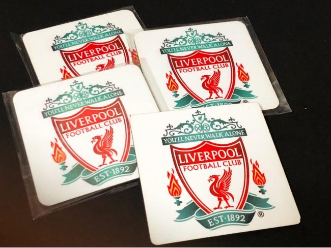 LFC Crest Coasters - Set Of 4