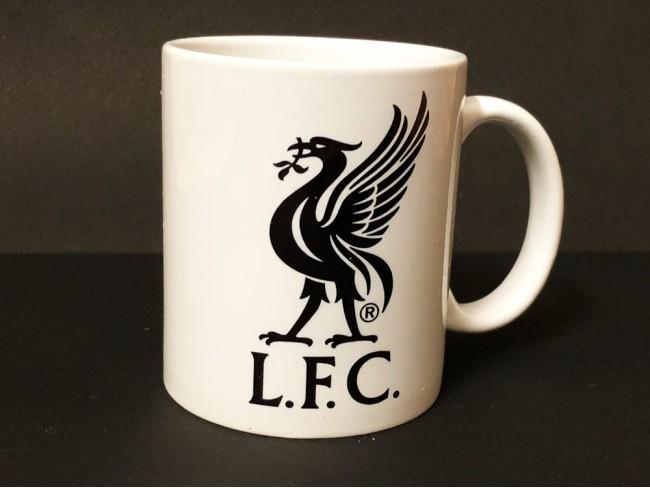 Liver Bird Mug - B&W