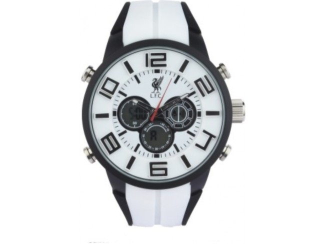 LFC Analog Digital Watch- White