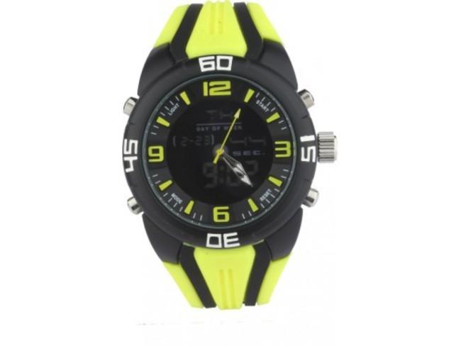 LFC Analog-Digital Watch- Arctic Lime