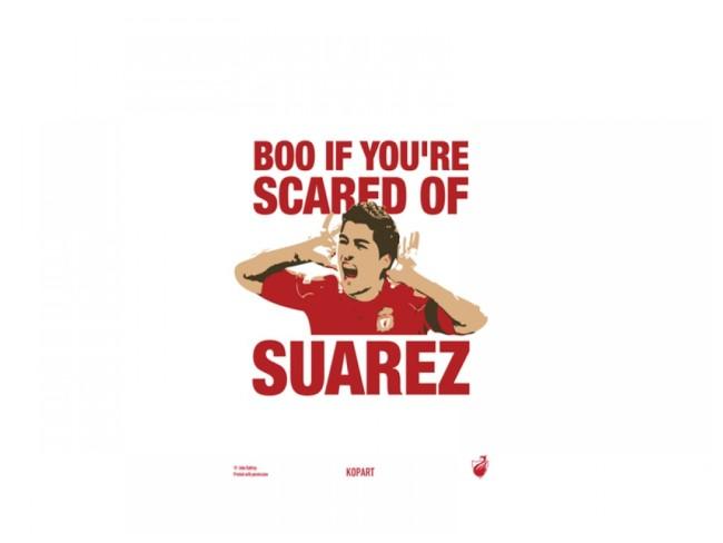'Boo Suarez' Poster
