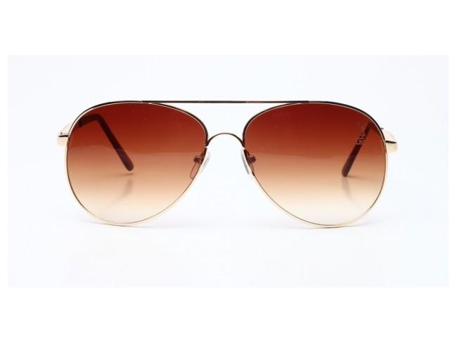 LFC Aviator Exotic Sunglass - Brown