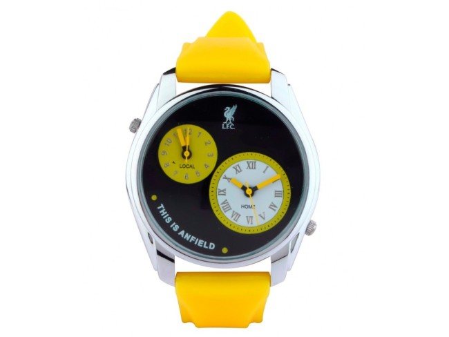 LFC Analog Mutifunction Dual Watch - Yellow