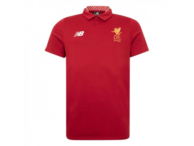 LFC RED MEDIA MOTION POLO 17/18