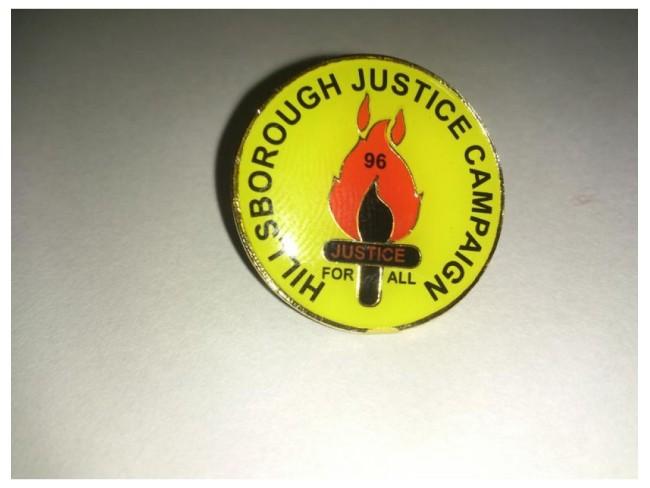 HJC Pin Badge