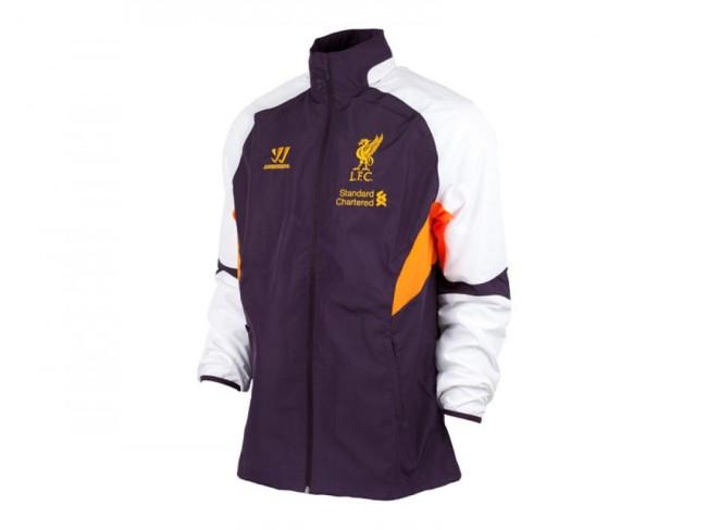 Liverpool FC Third Training All Weather Jacket - Nightshade Purple/White
