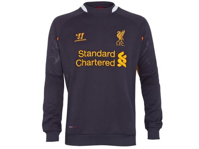 Liverpool FC Third Kit Training Sweater - Purple